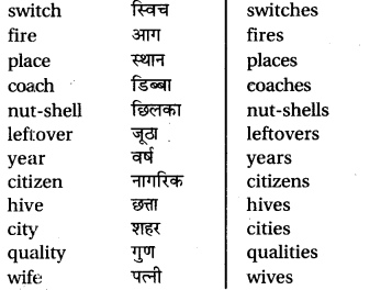 RBSE Class 6 English Vocabulary Number image 16