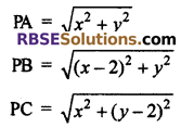 RBSE Solutions for Class 10 Maths Chapter 9 Co-ordinate Geometry Miscellaneous Exercise 5