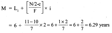 RBSE Solutions for Class 11 Economics Chapter 9 Median 24