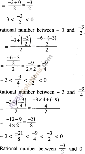 RBSE Solutions for Class 8 Maths Chapter 1 Rational Numbers Ex 1.1 35