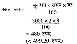 RBSE Solutions for Class 8 Maths Chapter 13 राशियों की तुलना In Text Exercise 57b