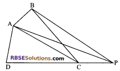 RBSE Solutions for Class 9 Maths Chapter 10 Area of Triangles and Quadrilaterals Additional Questions - 17