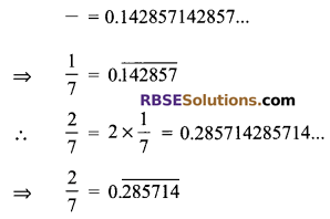 RBSE Solutions for Class 9 Maths Chapter 2 Number System Additional Questions 26