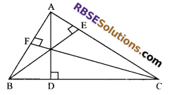 RBSE Solutions for Class 9 Maths Chapter 7 Congruence and Inequalities of Triangles Miscellaneous Exercise 20