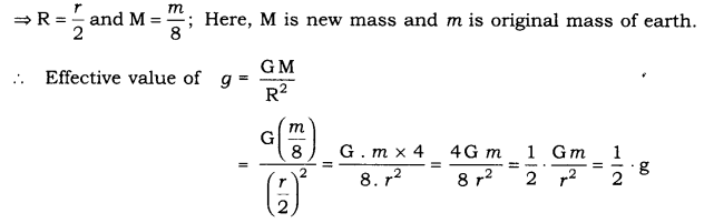 RBSE Solutions for Class 9 Science Chapter 10 Gravitation 5
