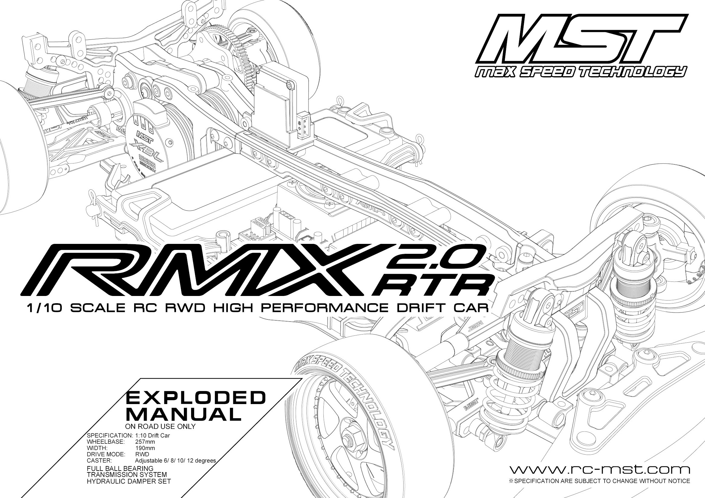 Rmx 2 0 rtr exploded manual max speed technology supportdrift ins rh rc mst