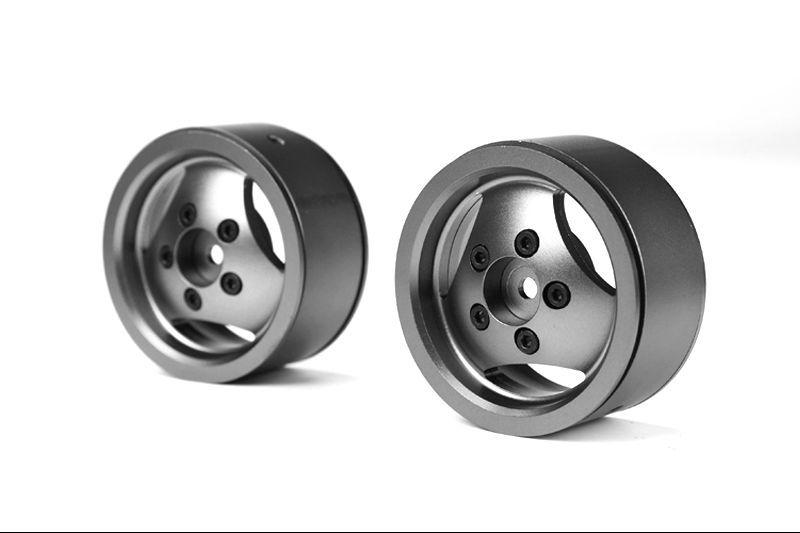sca 1e 1 9 cnc alum beadlock wheels for