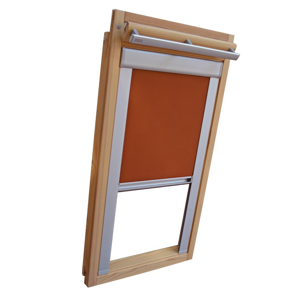 rc rollo shop dachfensterrollo verdunkelung fur velux dachfenster ggl gpl ghl terracotta online kaufen