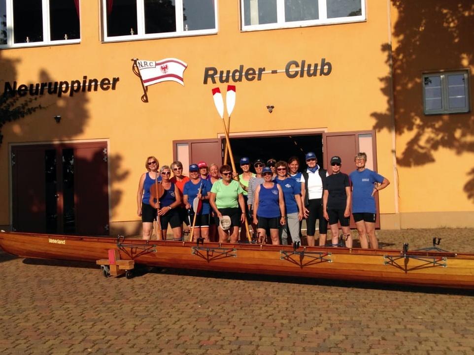 Frauenwanderfahrt Neuruppin vom 21.08.bis 25.08.2019 (90km Tourlänge)