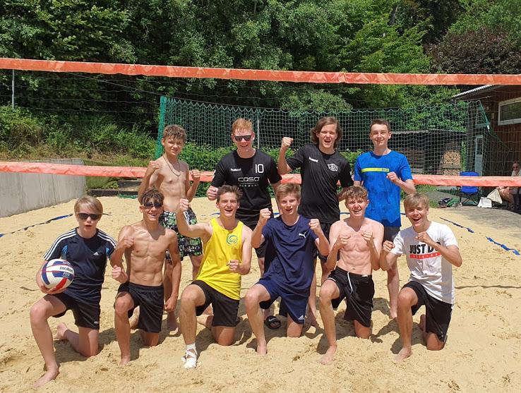 Endlich wieder erstes Beachvolleyballturnier nach dem Neustart! Offene Beachvolleyball Vereinsmeisterschaften des RCS in der männlichen U19