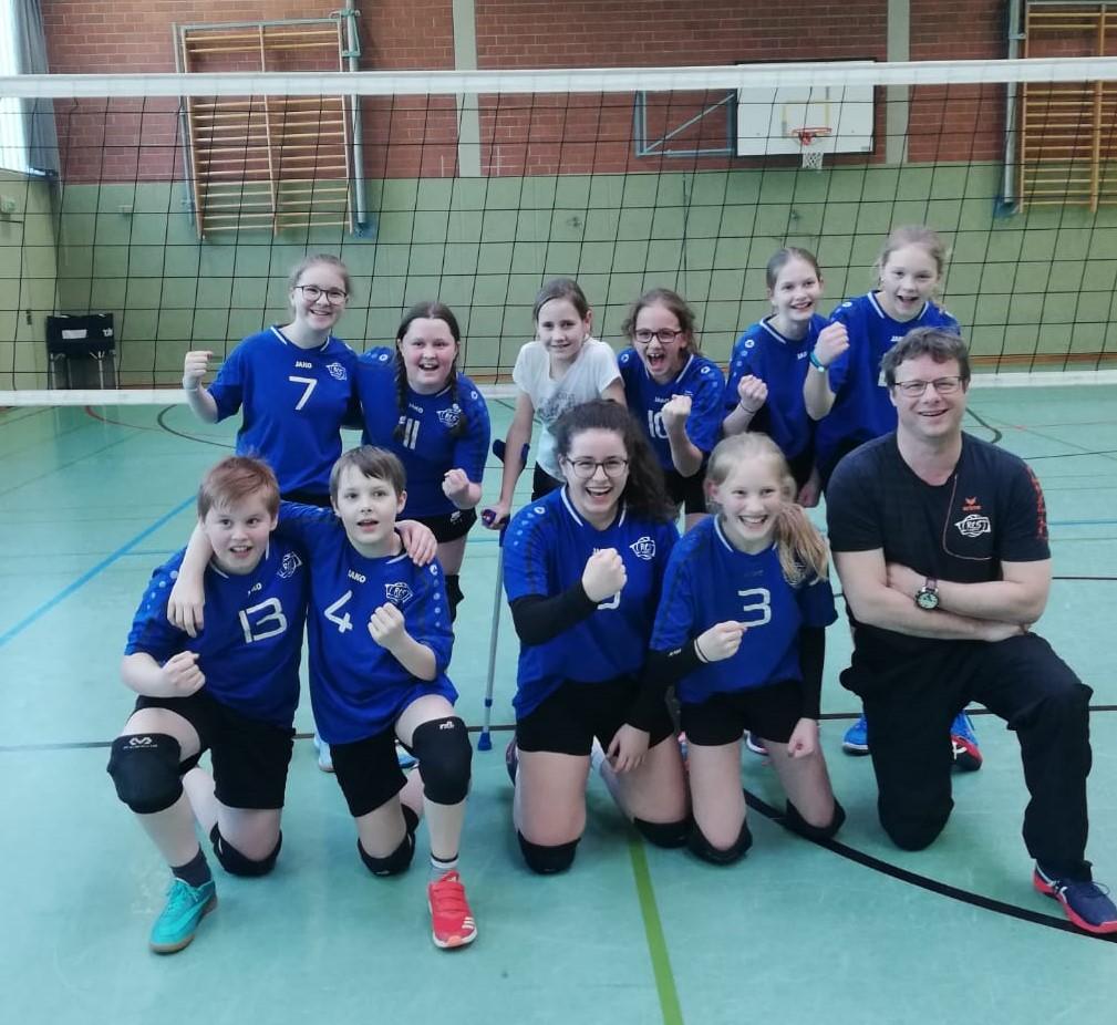 U14 Mixed – Bezirksliga 15 – RCS mit drei souveränen Siegen vorzeitig Staffelsieger