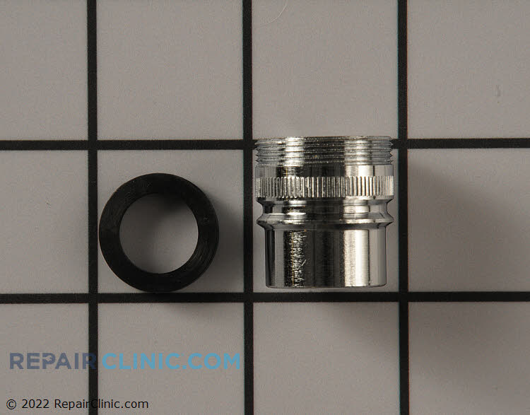 Faucet Adaptor Coupling Wpw10254672 Fast Shipping Repair Clinic
