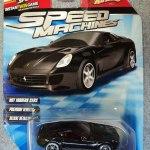Hot Wheels 2010 Speed Machines Ferrari 599 Gtb Fiorano Black