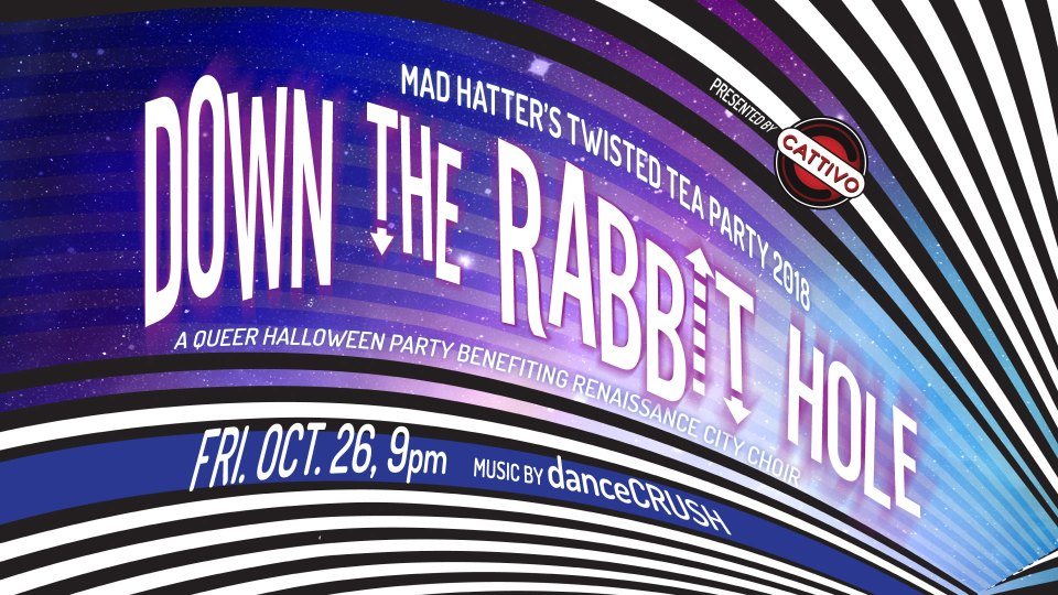Mad Hatter's Twisted Tea Party: Down the Rabbit Hole