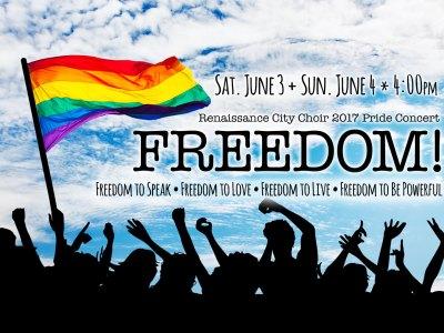 Renaissance City Choir 2017 Pride Concert