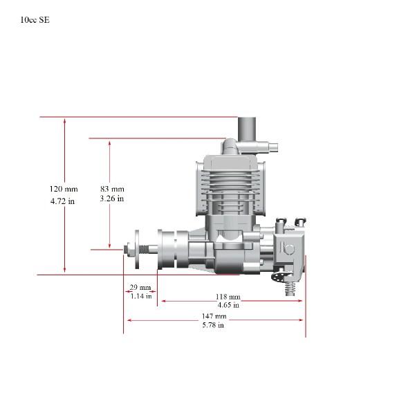 RCGF STINGER ENGINES