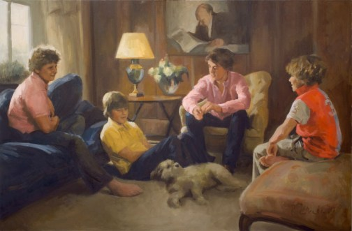 Family Portrait: oil on canvas 2011