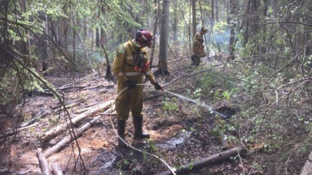 تقضي حرائق الغابات على مساحات واسعة في ألبرتا /Alberta Wildfire