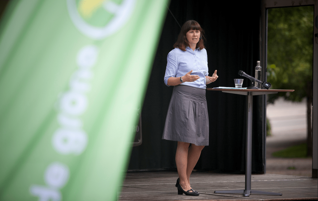 Green party spokesperson Åsa Romson in 2011. (Green Party Sweden)