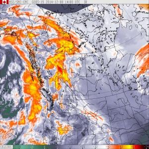 Trois tempête à répétition cette semaine en Colombie-britannique.