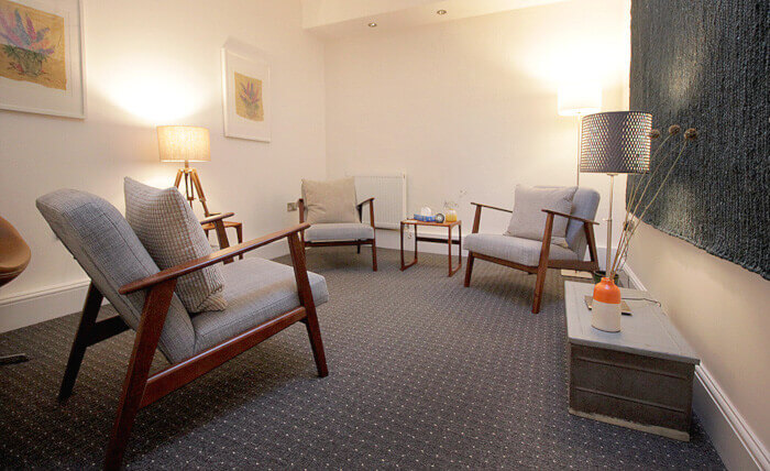 Cognitive Hypnotherapy treatment room