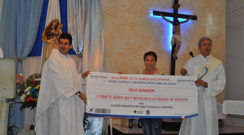 Galeria Concurso RCM Visita del papa a colombia Piedecuesta