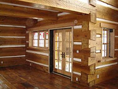 Settling For Log Home Construction Styles RCM Cad Design