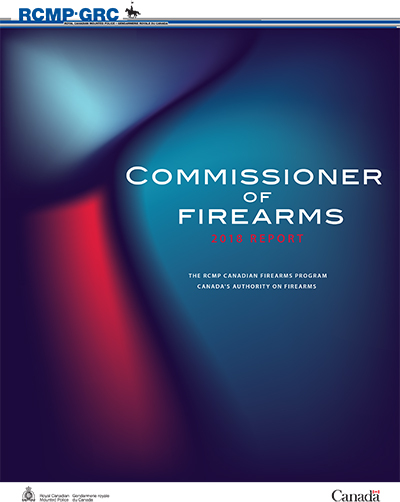 Commissioner of Firearms 2018 Report cover image