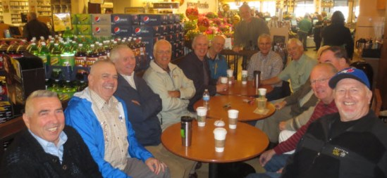 Photograph of the South Surrey Koffee Klatch members