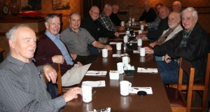 Photograph of Veterans attending the White Rock Koffee Klatch