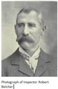 Photograph of Inspector Robert Belcher