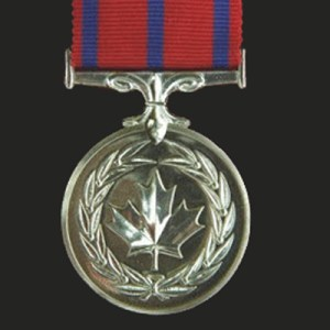 Photograph of the Canadian Medal of Bravery