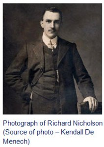 Photograph of Richard Henry Nicholson