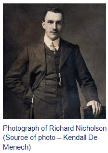 Photograph of Richard Henry Nicholson