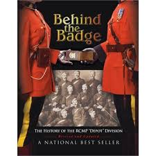 "Photograph of the book entitled ""Behind The Badge"""