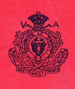 Photograph of the original RNWMP Veterans Association crest