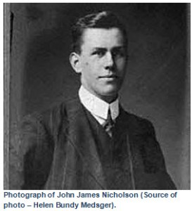 Photograph of John James Nicholson