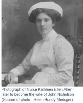 Photograph of Kathleen Allen.