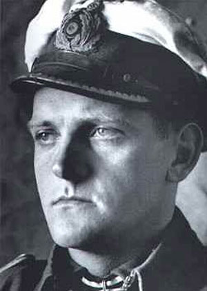 Photograph of U-boat Captain Erich Topp
