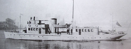 Photograph of the RCMP Marine Services vessel - Bayhound.