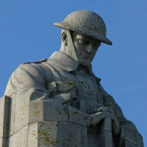 Photograph of Canadian World War I Memorial at Vancouver Corner in Belgium (Source of photo - Sheldon Boles)