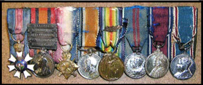 Photograph of medal awarded to Major General Victor Williams