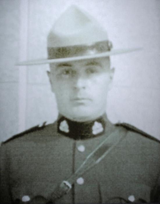 Photograph of RCMP Constable Archie Lepine (Source of photo - Surrey RCMP Detachment).