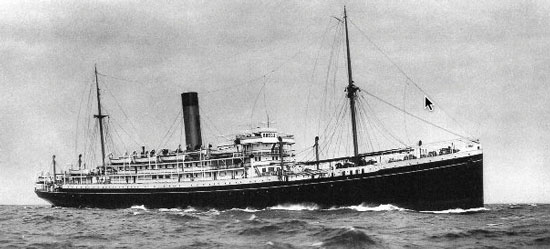 Photograph of the RMS Nascopie.