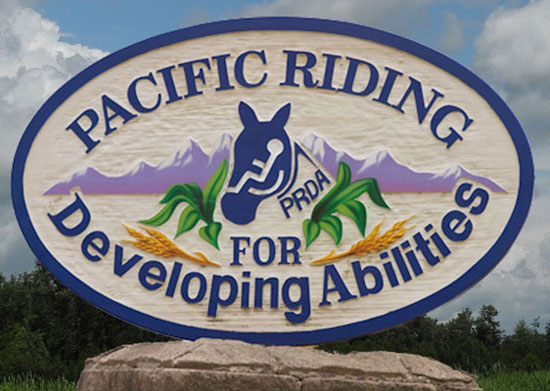 Photograph of the Pacific Riding for Developing Abilities (Source of photo - Sheldon Boles).