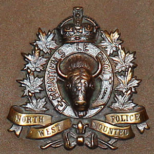 Photograph of a unique RCMP crest (Source of photo - Sheldon Boles).