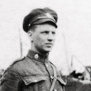 May 1919 - Photograph of RNWMP Trooper Edgar Murray Moore - member of  the RNWMP Cavalry Draft.  (Source of photo - Ric Hall's Photo Collection).