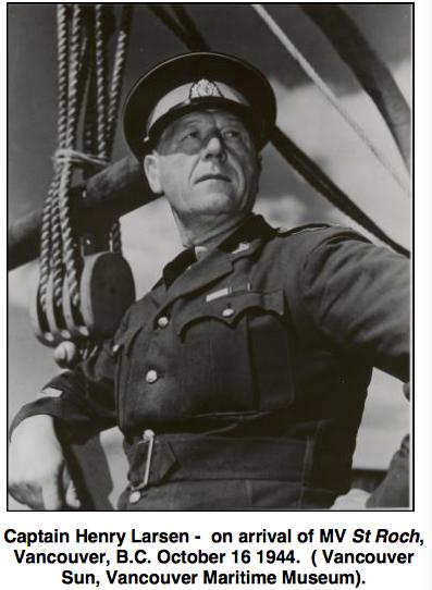Photograph of RCMP Henry Larsen