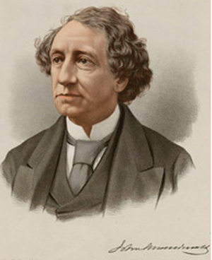 Photograph of Sir John A. MacDonald - Prime Minister of Canada.
