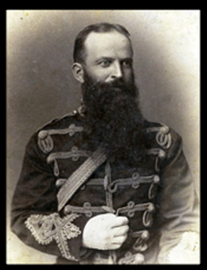 Photograph of NWMP Superintendent Gagnon.